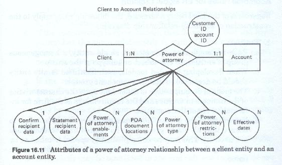 relationship between entity and attribute